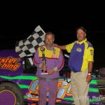 IMCA Modified Winner is: #96c, Jim Cameron, Cameron, MO -- Photo by PictureMeRacing.com