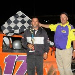 IMCA Sport Modified Winner is: #17x, Clint Baker, Meadville, MO.  Photo by PictureMeRacing.com