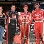 Larson is Top USAC Midget Gun on Dodge City Night One!