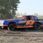 The Heat Was On At Lincoln County Raceway on Saturday as Racing Action was Scorching Hot.