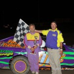 IMCA Modified Winner is: #96c, Jim Cameron, Cameron, MO