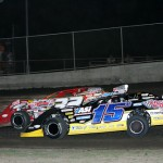 15B Brian Birkhofer Muscatine, IA and 32 Bobby Pierce Oakwood, IL --- Photo by Mike Ruefer