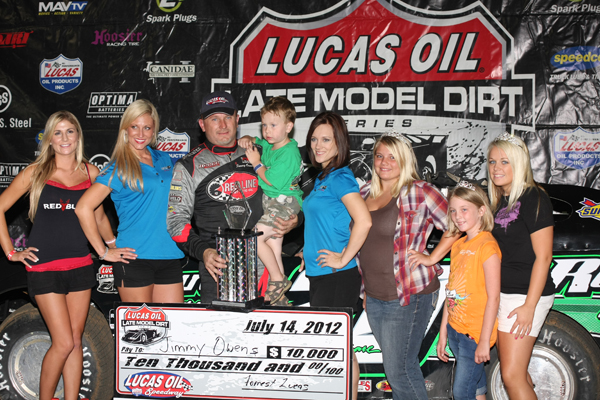 Deery Brothers Iowa City >> Owens Over Blankenship for Win! : Heartland Motorsports