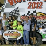 QUINCY, IL (Aug 14, 2012) &#8211; 13-year-old, Jake Griffin not only won another Asphalt Open Wheel Modified feature over the weekend, but he also claimed his first career Dirt Super Late Model victory.