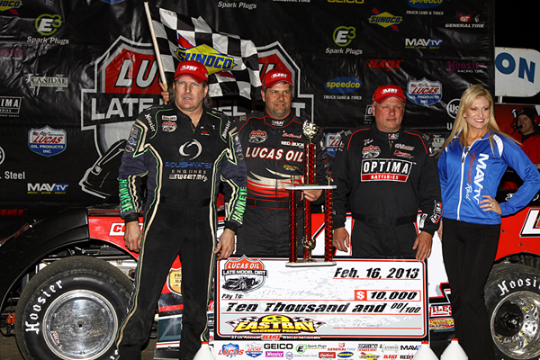 Deery Brothers Chevrolet >> Pearson Powers to Lucas Oil Victory Lane at East Bay ...