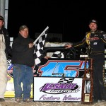 Brian Birkhofer wins Thaw Brawl at La Salle Speedway!