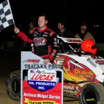 Shane Cockrum takes breakthrough victory in Midgets, King wins 21st in Micros to open POWRi season