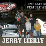 Lierly Grabs First Ever Super Late Model Victory at Quincy