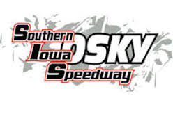 Spencer Diercks of Davenport wins Late Model feature at the Southern Iowa Speedway