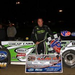 Feger Thrills Home State Fans With March To Victory In Saturday's Illini 100 At Farmer City Raceway