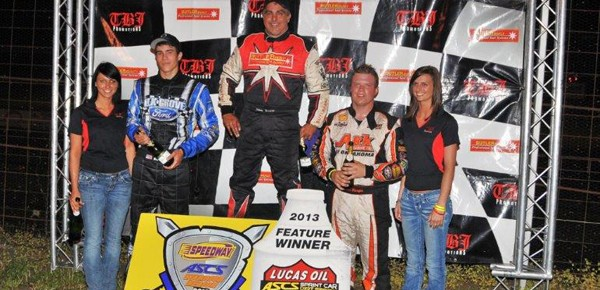 Herrera decimates Lucas Oil ASCS field at U.S. 36