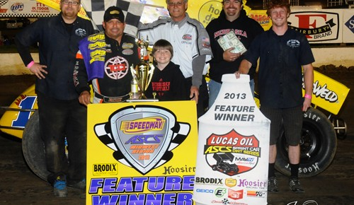 Lasoski smooth in Lucas Oil ASCS victory at I-80 Speedway
