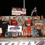Pierce Claims Second DIRTcar Summer Nationals 'Hell Tour' Victory at LaSalle Speedway
