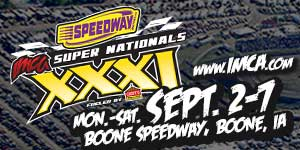 Super Nationals title accompanies checkers at Sept. 2 Boone Deery
