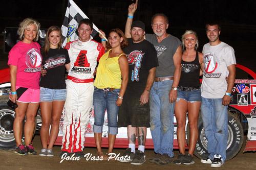 Pierce Dominates Quincy Alms Heartland Motorsports