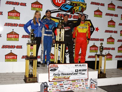 Darrell Lanigan Emerges Victorious in Late Model Nationals!