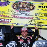 Rico Abreu wins POWRi/USAC Gold Crown Midget opener, Zach Daum's 4th brings championship closer