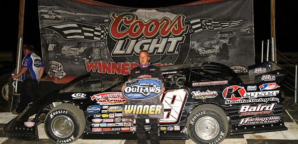 Lanigan Finds Winning Touch With Club 29 Car In Sunday Night's Bubba Army Dirt Late Model Winter Nationals Finale