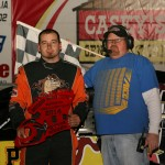 Sobbing, Carter, VanDenBerg and Anderson Take Checkers at Osky's Frostbuster
