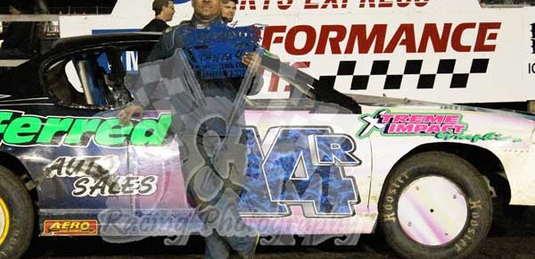 Results from Lee County Speedway for April 18, 2014