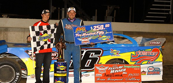 Andy Eckrich starts 17th, finishes first in Deery Series opener at Davenport