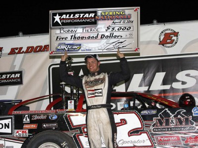 YOUNG SENSATION BOBBY PIERCE DUPLICATES FATHER'S 1993 VICTORY