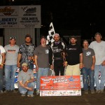 Like lightning, Springsteen streaks to Deery Series checkers at West Liberty