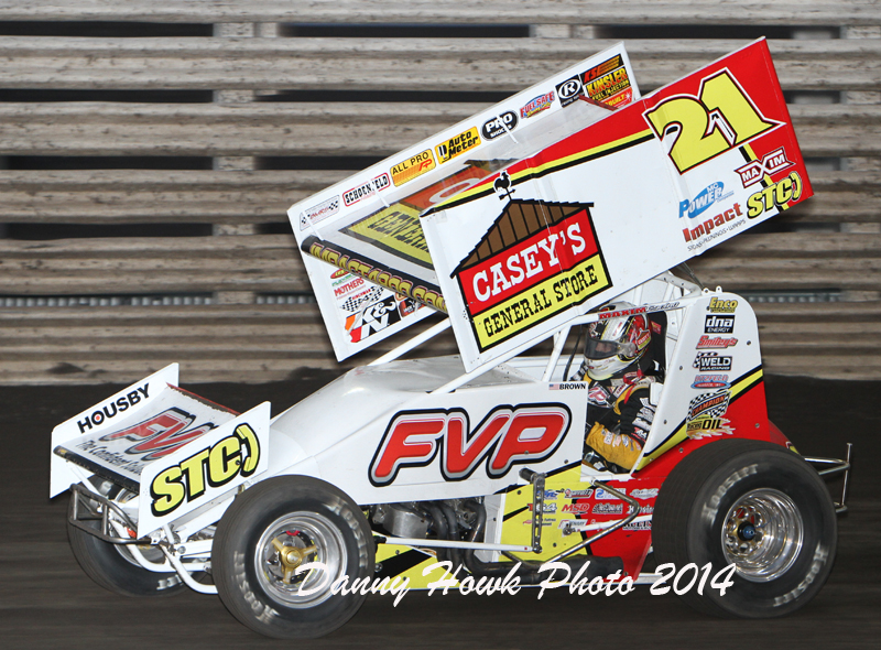 Finally! Brian Brown wins the Arnold Motor Supply Knoxville 360 Nationals!