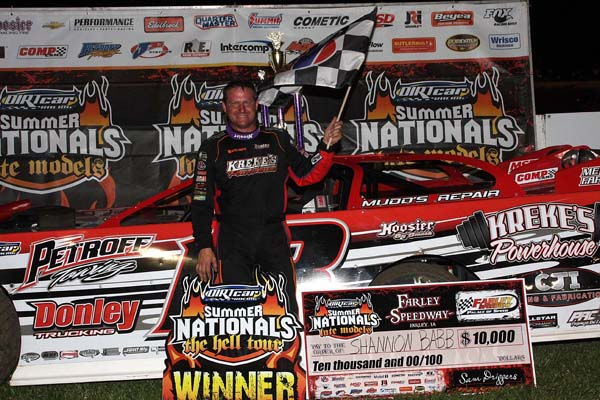 Deery Brothers Iowa City >> Babb Wins at Iowa's Farley Speedway for 84th DIRTcar ...