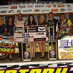 Moyer Outduels Manville for Second Win of 2014 DIRTcar Summer Nationals