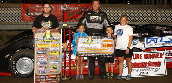 Chad Simpson Victorious at Lafayette County Speedway