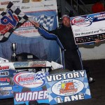 Harrison Scores Third Victory of 2014 DIRTcar Summit Racing Equipment Modified Nationals Tour at Federated Auto Parts Raceway at I-55