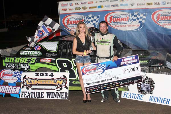 Poel Captures Fourth Victory Of 2014 Dirtcar Summit Racing