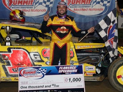 Gilpin Dominates Florence Speedway for Second DIRTcar Summit Racing Equipment Modified Nationals Victory of the Season