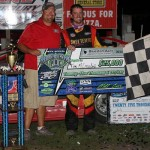 McCreadie Charges From 17th Starting Spot To Capture Epic Prairie Dirt Classic At Fairbury American Legion Speedway