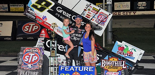 Daryn Pittman Goes Back-to-Back, Sweeping the Boot Hill Showdown presented by Roto-Mix