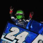 Rico Abreu wins Illinois Speedweek Night #2 at Tri-City