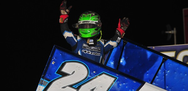 Rico Abreu wins Illinois Speedweek Night #2 at Tri-City