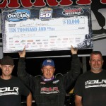 Darrell Lanigan Outduels Brady Smith at Saturday's NAPA Merritt 50, Earning His 13th World of Outlaws Late Model Series Victory of 2014