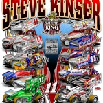 """Salute to Champion Steve Kinser"" Posters Being Reprinted"