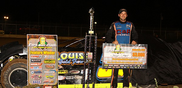 Jason Utter Storms to Plymouth Speedway Victory