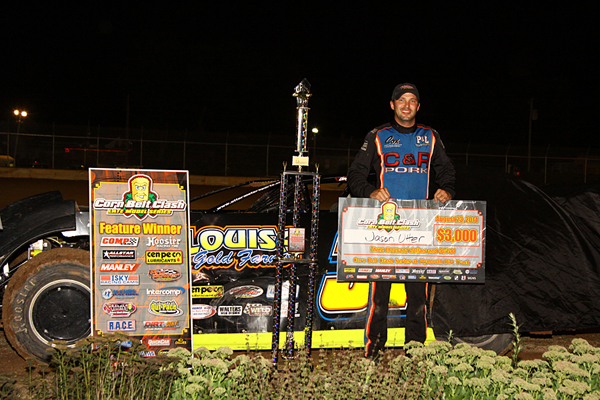 Deery Brothers Iowa City >> Jason Utter Storms to Plymouth Speedway Victory : Heartland Motorsports