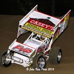 Brian Brown Wins the 30 lap MOWA sprint car feature at the 34 Raceway Sept 6th