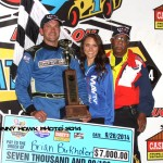 Birkhofer Blasts to Victory on Friday Night at Knoxville Raceway