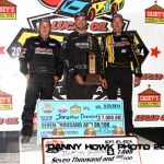 """Superman"" Jonathan Davenport Claims First Career Win at Knoxville!"