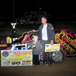 Adam Birck wins Dunker Concrete 2nd annual King of the Bullring Sport Mod Special at Quincy