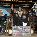 Bloomquist Charges Through The Field At Eldora Speedway To Claim Fourth Career World 100 Victory