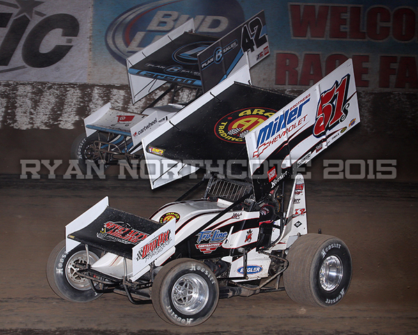 Stevie Smith Race Car Driver Kyle Larson Wins At Cocopah
