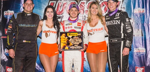 Kyle Larson Unstoppable in Warren Cat Chili Bowl Opener