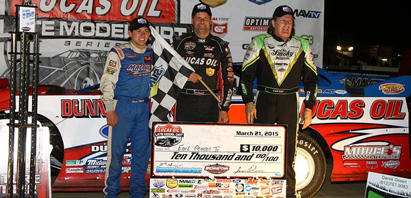 Pearson Takes Third Career Indiana Icebreaker at Brownstown Speedway